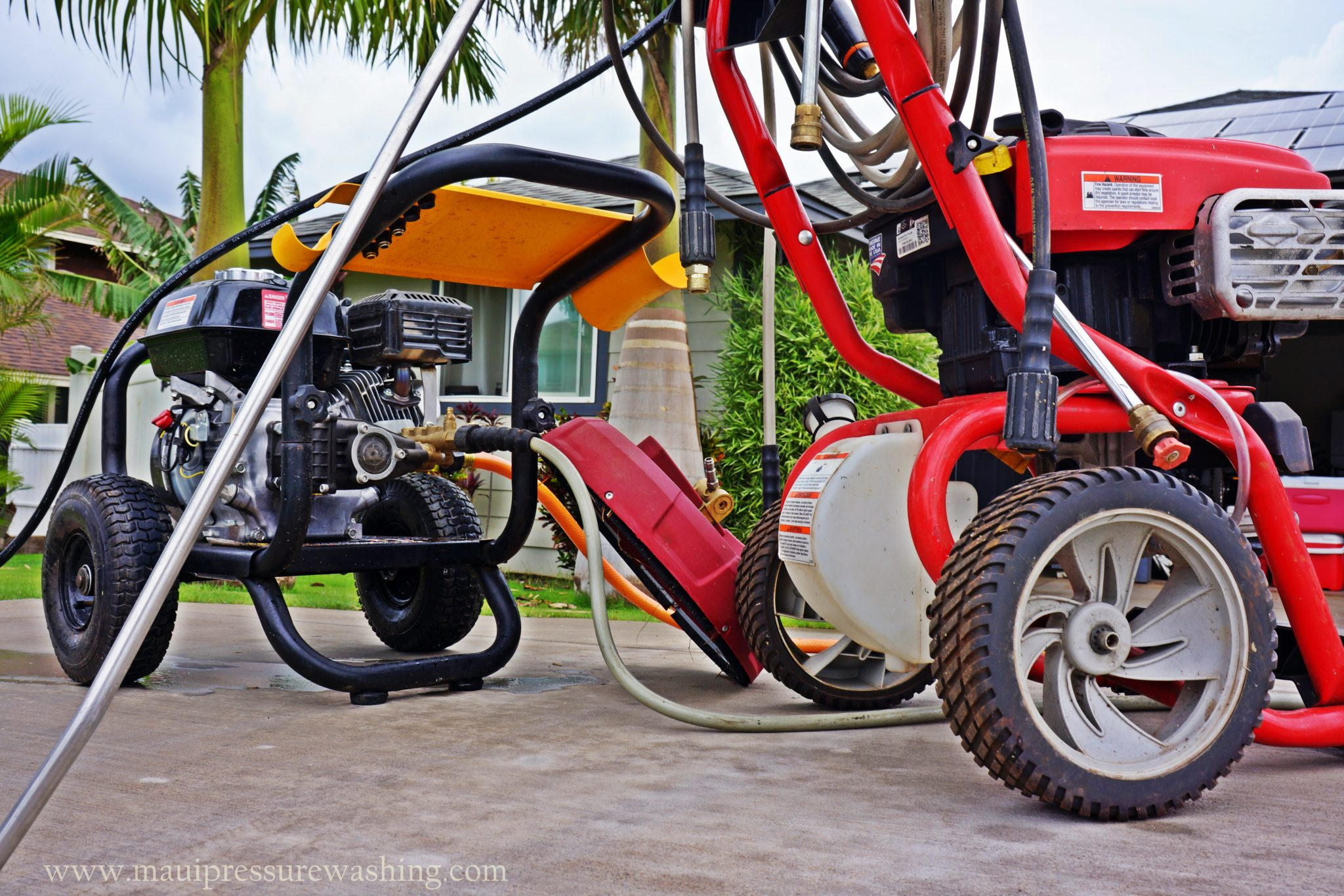 Maui Pressure Washing Services Offered