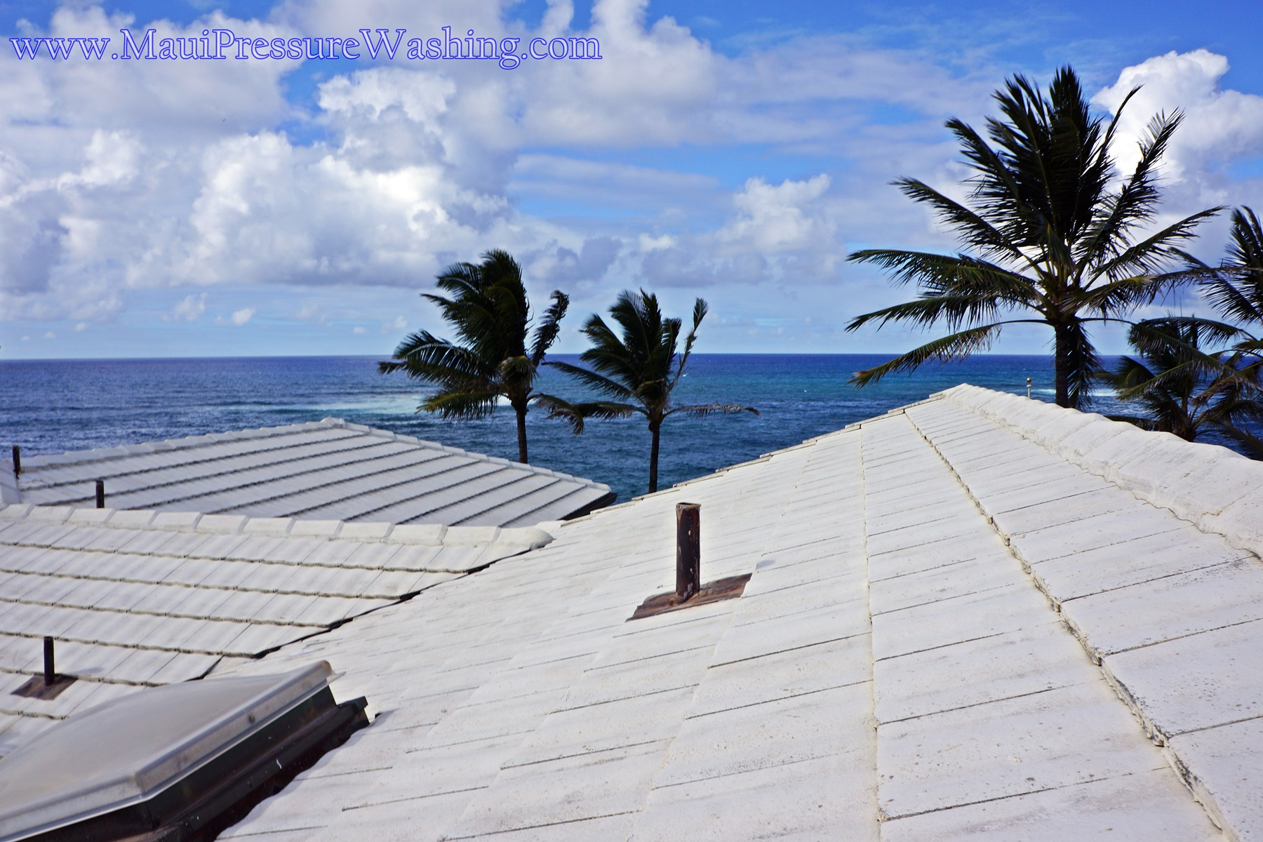Maui Roof Washing Roof Pressure Cleaning