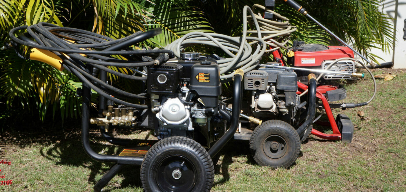 Pressure Washer Rentals on Maui